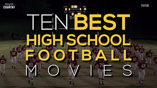 10 Best High School Football Movies