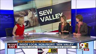 Inside local non-profit Sew Valley - Video