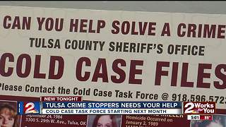 Tulsa Crime Stoppers needs your help - Video
