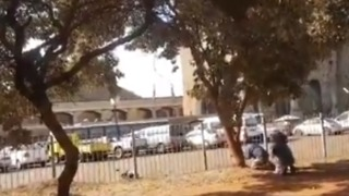 Shots Fired in Zimbabwe Election Result Protest - Video