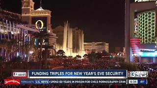 More money approved for New Year's Eve security - Video