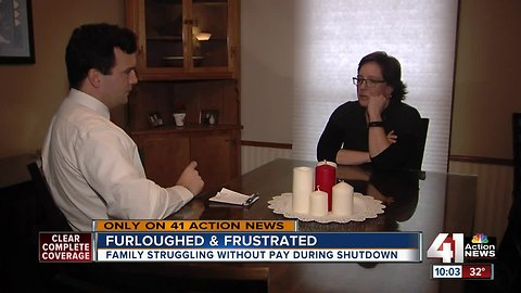 Government shutdown leads to worry at home