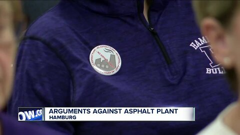 Standing room only as Hamburg planning board discusses proposed asphalt plant