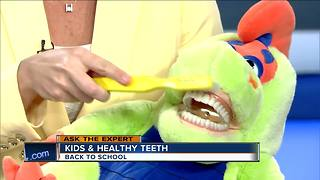 Ask the Expert: Back to school dentist visit - Video