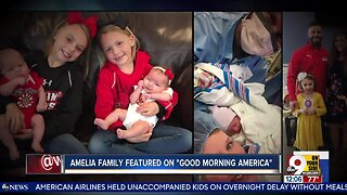 """Amelia family featured on """"Good Morning America"""""""