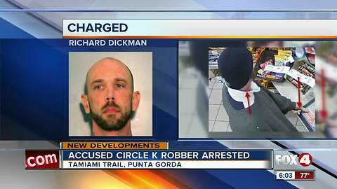 Punta Gorda robber caught in California
