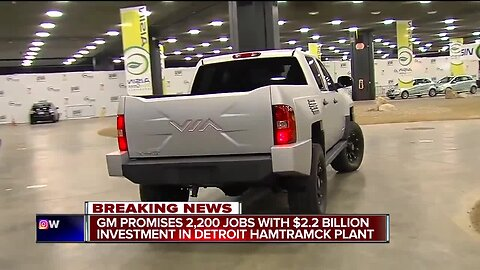 GM to invest $2.2B in Detroit-Hamtramck plant, create 2,200 jobs to make electric vehicles