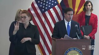 "Ducey ordering ""Stay Home, Stay Healthy, Stay Connected"" order"