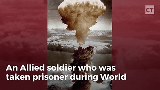 WWII Vet Recouns How Atom Bomb Saved His Life - Video