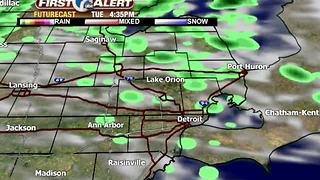 Spotty showers for back to school - Video