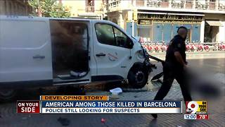 American among those killed in Barcelona - Video