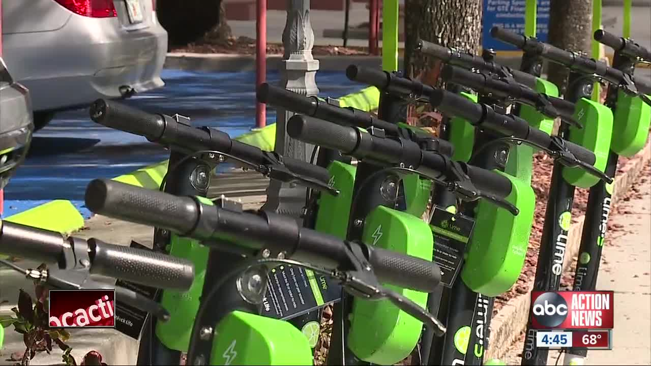 Report finds scooters went into no-ride zone areas nearly 1,150 times