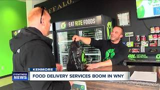 Meal delivery services boom across WNY - Video