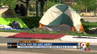 Why don't Cincinnati homeless go to shelters? - Video