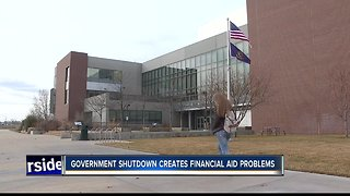 Government shutdown could create problems with financial aid