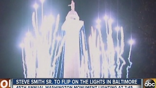 Annual Washington Monument lighting Thursday night - Video