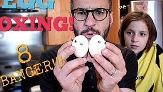 Canadian Dad Shows His Kids the Vintage Hobby of Egg Boxing - Video