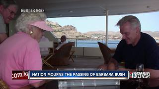 Nevadan Sig Rogich shares thoughts on Barbara Bush's legacy