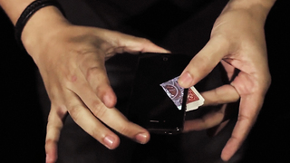 Card Trick That'll Slide Right out of the Screen - Video