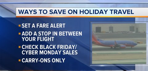 Cost-saving tips for Thanksgiving travel