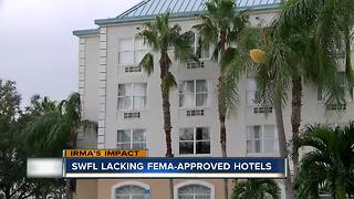 Shortage of hotels for those displaced by Hurricane Irma - Video