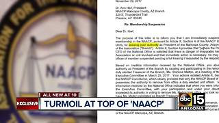 NAACP's Maricopa County president suspended - Video