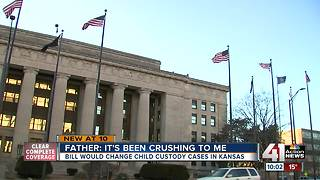 Kansas bill could change child custody cases - Video