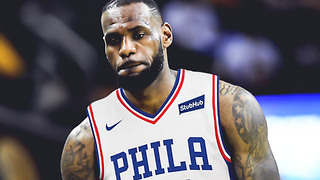 LeBron James SIGNING with the Philadelphia 76ers This Summer!!? - Video