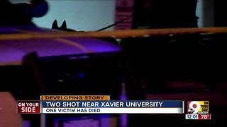 Cortez Boston identified as victim in shooting near Xavier University in Cincinnati - Video