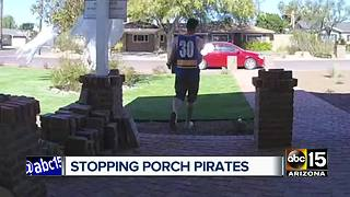 Amazon combating 'porch pirates' with new delivery method - Video