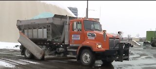 Clearing the roads in metro Detroit