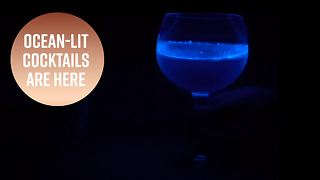 Behold The First Glowing Cocktail And The Man Behind It - Video