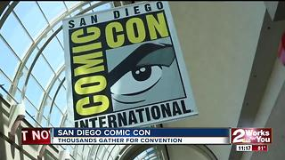 Thousands of fans flock to San Diego Comic Con - Video
