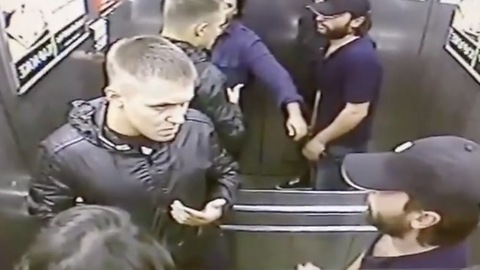 Russian Man Takes On Three Muslims Who Confronted Him In Elevator