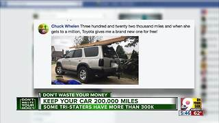 Tips for putting 200,000 (or more) miles on your car - Video