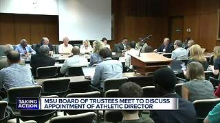 Bill Beekman officially named Michigan State's new athletic director - Video