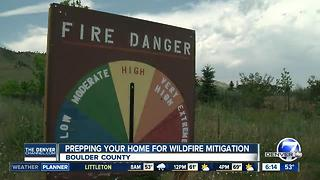 Officials stress mitigation as wildfire season heats up in Colorado - Video