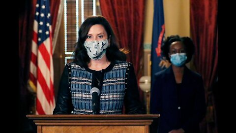 Gov. Whitmer provides update on COVID-19 in Michigan after hitting first vaccination goal
