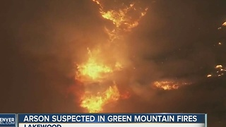 Arson suspected in Green Mountain fires - Video