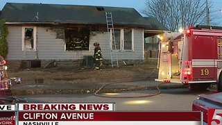 Fire Breaks Out At Abandoned Midtown Home