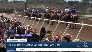 Racing season begins at Del Mar today but with some changes