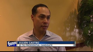 Democratic presidential candidate Julián Castro visits Boise