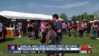Mac and Cheese Festival returning