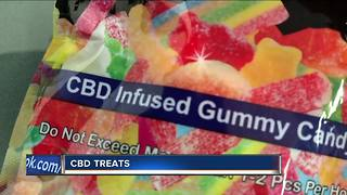 CBD Treats: Caniboid oil snacks becoming more popular.