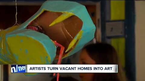 From vacant home to works of art in Slavic Village