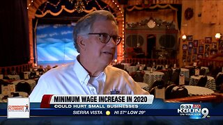 Minimum wage increase will impact small businesses
