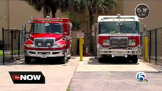 Gear, iPads stolen from Palm Beach County fire station in Loxahatchee Groves - Video