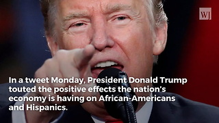'Never Forget': Trump Sends Message to African-Americans After Unemployment Numbers Released - Video