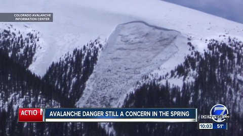 Hidden avalanche danger remains and could get worse when spring melt settles in
