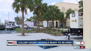 Collier county schools ready to re-open - Video